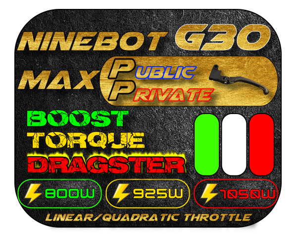 Firmware Public/Private Ninebot MAX G30