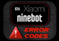 Codici errore Xiaomi e Ninebot